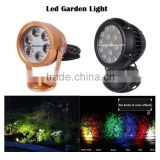 New product 6W RGB outdoor light, waterproof led light garden for lawn/wall/garden                                                                                                         Supplier's Choice