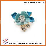 2015 enamel costume jewellery brooches for women, flower pins and brooches