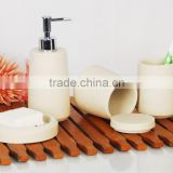 Artificial stone Bathroom Bath Accessories set/stone bathroom accessories/Tumbler/Soap dispenser/Soap dish/Toothbrush hold