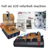 LCD Repair Machine Full Set 5 in 1 Vacuum LCD Separator OCA Vacuum Laminating Machine Air Bubble Removing Machine