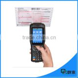 PDA3505 Wireless bluetooth 3.5 inch touch screen android laser barcode data collector with receipt printer SDK