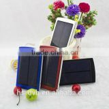 2015 Factory Price High Quality New Solar Power Bank Charger Products Distributor Slim Solar Power Bank 10000mah