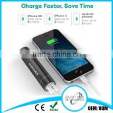 portable charger for amazon mobile power supply/oem intelligent power banksh OEM logo Crytstal Package