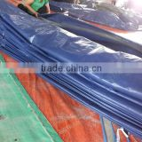 tarpaulin 3x3 PP material sliver/blue triangle plastic rope waterproof antioxidant factory directly hot sell wholesale outdoor