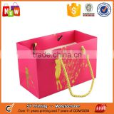 red cheap wedding promotional customized paper gift bag                                                                                                         Supplier's Choice