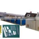 pvc door and window production line with aluminum profiles