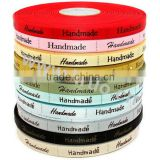 100% Polyester Satin Printed Ribbon Roll