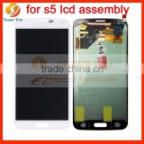 perfect original Touch Screen Digitizer LCD Assembly for Samsung Galaxy S5 I9600 G900 9001 Blue