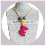 Chic Silicone Jewelry/Food-safe Bead Nursing Baby Teething Fashion Necklace Wholesale Gift