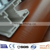 pvc color film profile for window and door