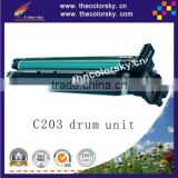 (DUCKME-C203) copier part drum unit for Konica Minolta Bizhub C203 C253 for Develop Ineo +203 +253 IU211 IU 211 IU-211 bkcmy