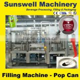 canned coconut milk packing machine