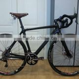 2013 disc brake full carbon fiber cyclocross frame & CX frame with disc fork