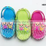 2015 new design Kids pvc sandals plastic jelly shoes for children