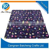 Easy to carry pp beach mat folding plastic beach mat
