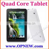 Cheap 9 inch Tablets Quad Core A33 Android 4.4 with External 3G Wi-Fi Capacitive OPNEW Wholesale