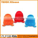 Cute Dog Grooming Silicone pot holders and oven mitts Glove For Oven
