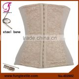 402602 Factory Wholesales Stock Tight Lace Steel Boned Body Shaper Corset