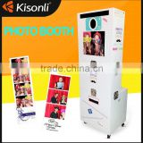 New design photobooth vending machine with Logo Printing