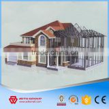 Professional Steel Structure Frame Materials China Supplier Large Span Prefab Structural Steel House Villa Warehouse Workshop