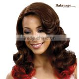Long Curly Wavy Brown Synthetic Hair Lace Front Wig