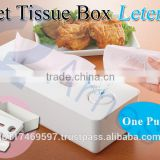 home household goods office tools items gift cleaning tool product wet tissue machine plastic tissue boxes container cover 76058