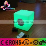 IP X4 rainproof outdoor lighting colorful stereo box waterproof bluetooth speaker