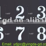 3D feeling solar house door number/gate letter