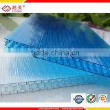 Guangzhou manufacture yuemei Grade A lexan Honeycomb polycarbonate sheet for noise barrier of road