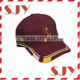 High quality Metal Buckle Back Hat Custom 3D Embroidered Baseball Cap
