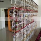 CB15 Wholesale Beaded Curtain Raindrops Rainbow Acrylic Bead Curtain Bathroom Home Doorway Window Decorative