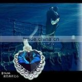 Heart of the ocean necklace, jewelry from Titanic