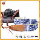 Fashion custom logo leather camera ncek strap for dslr in China factory