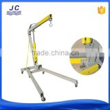 folding manual hydraulic pump engine crane with CE certificate