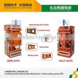 Semi automatic machinery for small business eco brava plus brick and paving making machine
