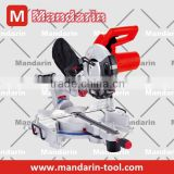 Good performance 2000W Mitre type Miter Saw/Hand Miter Saw, wood cutting saw, with laser