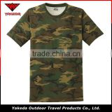 Customized army hunting T-shirt Breathable short sleeve camo camouflage military T-shirts uniform