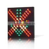 New design tunnel flashing light red cross green arrow toll station traffic led lights traffic