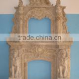 marble fireplace accessory of mantel BL482