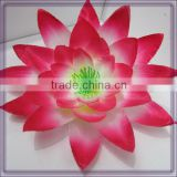 wholesale artificial silk lotus flower heads(AM-F-65)