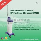 Pain Free 2015 Medical CE Approval Fractional CO2 0.1-2.6mm Acne Removal Acne Treatment Co2 Laser Surgical Equipment Portable