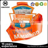 Hollow out cut heteromorphy zinc alloy iron silver nickel full bright color soft enamel marathon award winners medals