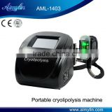 Body Shaping Acoustic Wave Therapy Cryolipolysis Lose Weight Fat Freezing Slimming Machine