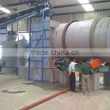 coal gasifier heating rotary dryer, coal gas heating dryers, dryer heated by coal gasifiers