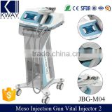 2017 Professional anti wrinkle 2nd water mesotherapy injection gun machine price
