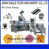 Grain Popping Corn Ball Snack Making Machine Stainless Steel 120 - 500kg / h