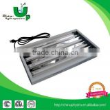hydroponic lighting 2ft 2 bulb/ ul approve panel hydroponic t5 fixture/ t5 fluorescent grow light fixture