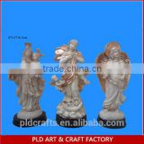 Polyresin Existing Mould Virgin Mary with baby jesus figurine