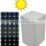 95L Solar Powered Single-door Household DC Compressor Upright Fridge