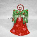 Newest products metal craft bell christmas decoration finished powder coating Fujian factory